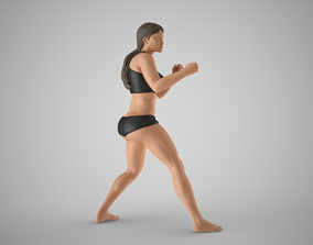 Boxer Girl 2 3D printable model