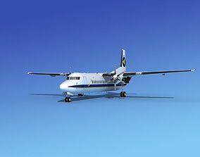 Fokker 50 Denim Air 1 3D