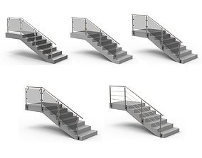 Stairs 3D model staircase