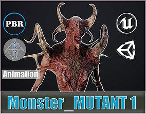Monster Mutant 1 3D asset