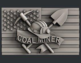 3d STL models for CNC coal miner
