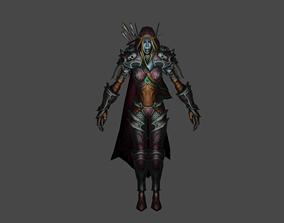 World Of Warcraft Sylvanas 3D asset