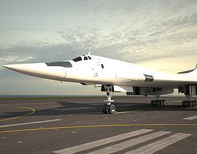 Tupolev Tu-160 3D