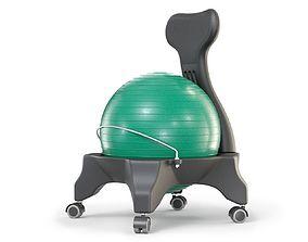 3D model Gym Ball Office Chair