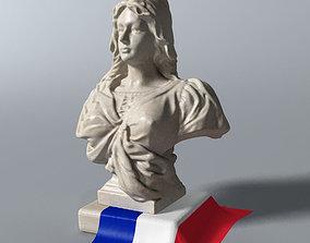 3D Marianne Bust