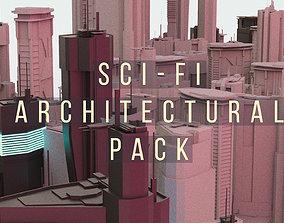 SCIFI Architectural Pack 3D
