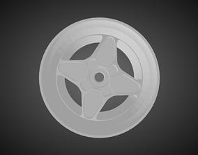Rotiform GTB rims for Hot Wheels 3D print model