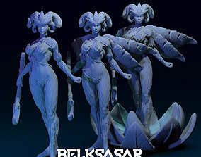 3D print model Dryad Nymph Normal and Topless 3