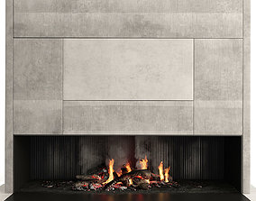 accessories 3D Fireplace Modern