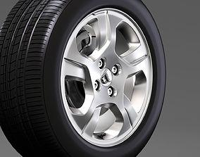 Dacia Logan wheel 2016 3D