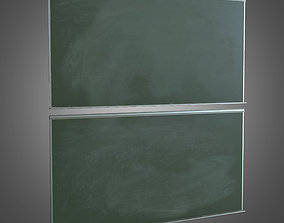 Chalk Board - PBR Game Ready 3D asset realtime