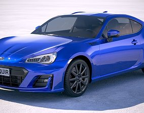 Subaru BRZ 2018 3D