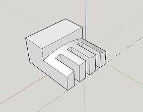 Fan stopper 3D print model