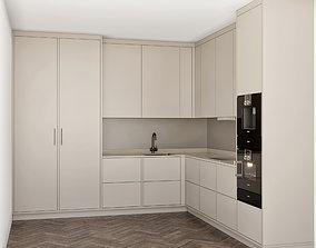 3D minimal kitchen 3