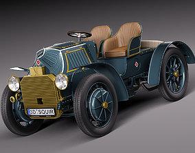 Lohner Porsche 1901 3D model