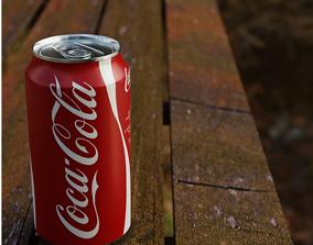 Coca Cola 3D model rigged