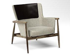 Hobsen Contrasting Upholstery Back Cushion FREE 3D model