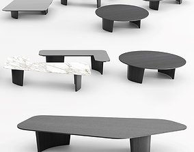 3D Minotti Song Coffee Tables -1