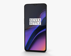 OnePlus 6T Midnight Black 3D