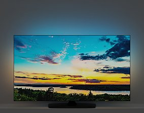 TV flatscreen ambilight 3D model