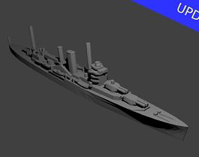 3D print model British York Class Cruiser