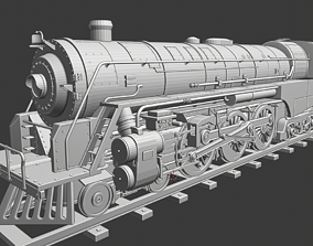 3D print model locomotive Aurora