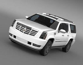 3D Cadillac Escalade ESV 2010