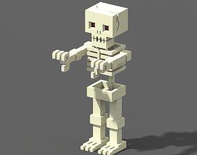 3D asset Voxel Skeleton