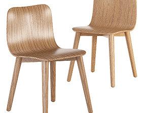 Dining chair 3D asset VR / AR ready dill