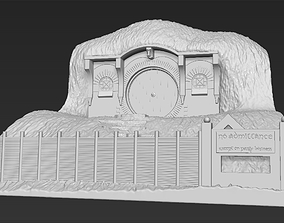 Bag End Shire Lord of the Rings 3D printing ready stl
