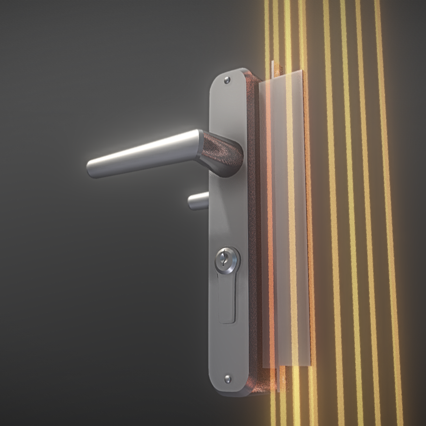 Animated Door Fittings (High-Poly)