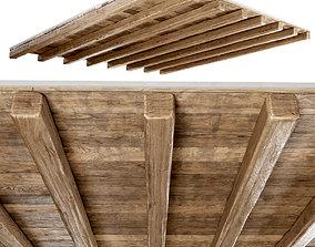 Wooden ceiling 3D