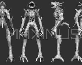 3D model Alien Type X