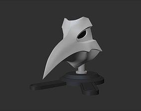3D printable model Rojuro Otoribashi - Hollow Mask - 1