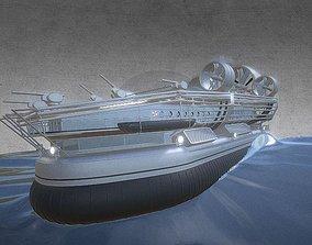 Animated Ocean Scene 3D model
