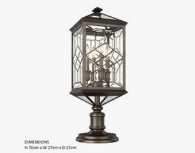3D model Fine Art Lamps Oxfordshire 880380ST