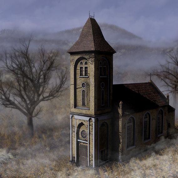 Post apocalyptic church