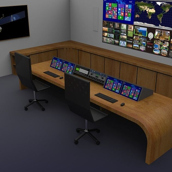 Media Monitoring and Recording Studio