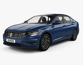 Volkswagen Jetta SEL Premium US-spec 2018 3D model