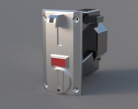 Coin Selector - Vending machine 3D print model