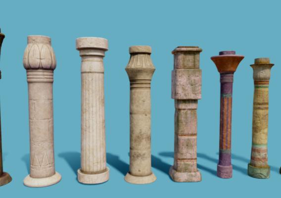 Columns egypt