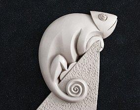 Chameleon 1 3d print model
