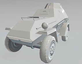 Tanquette BA-64 3D asset low-poly