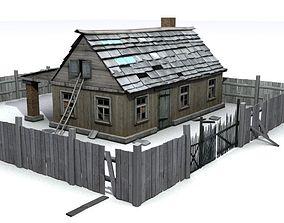 ruin 3D House