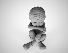 3D print model Crying Child
