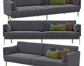 3D model Bonaldo Structure sofa