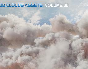 3D model VDB Clouds Volume 1 nature
