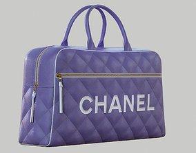 3D model CHANEL Vintage Logo Bowler Bag Quilted Lambskin