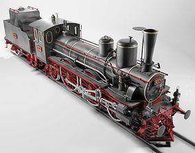 Orleans 1893 Steam Locomotive 3D