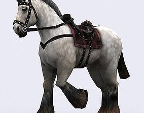 3DRT - Fantasy Mount Horse animated
